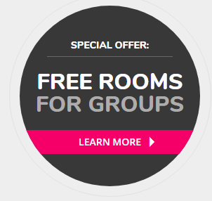 Free rooms for groups